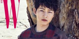 newest model song joong ki is the newest cover model for w allkpop com