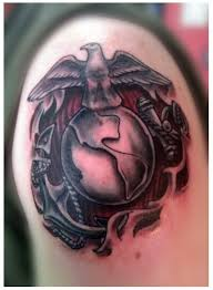 marine corps www darklightgalleries com dlg tattoo studio