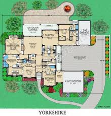 yorkshire courtyard house plan small luxury house plan