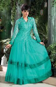 buy indian designer gowns online uk turquoise designer gown
