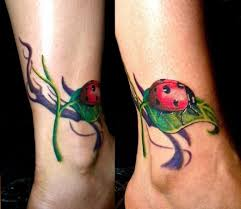 watercolor ladybug butterfly ladybug tattoos designs