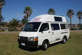 toyota commercial vehicles usa toyota hiace hi top campervans for sale at travellers autobarn