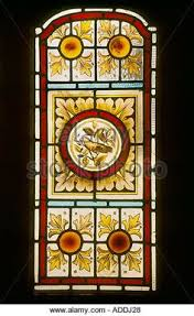 victorian glass door panels close up of decorative stained glass panel victorian hand painted