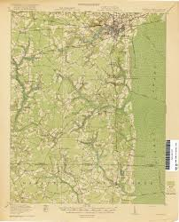 Chattanooga Map North Carolina Historical Topographic Maps Perry Castañeda Map