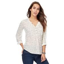 mantaray clothing mantaray white arrow print pleated shirt elmfirm item no