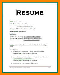 resume formats word simple resume format in word template business