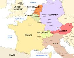 western europe maps in map roundtripticket me