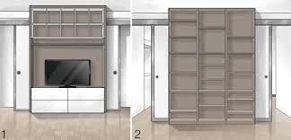 Mobili Divisori Per Ingresso by Interpareti Divisorie Fabulous Interparete Marcaclac With