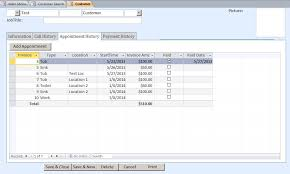 microsoft access plumbing appointment tracking database template