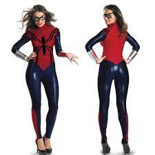 spiderman halloween costumes sale lycra jumpsuit wonder woman spider man female