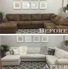 Sofa Cover Sectional How To Make A Sectional Slipcover Without Sewing Living Rooms