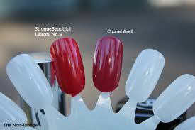 chanel april 533 spring 2012 nail polish the non blonde