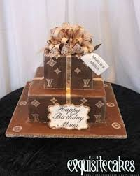 Louis Vuitton Cake Decorations Birthday Cakes For Males And Females