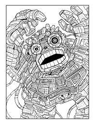 coloring book sample pages heyapathy surreal comics
