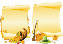 thanksgiving day vector graphics