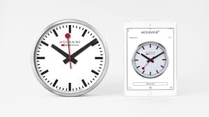 mondaine smart stop2go wall clock youtube