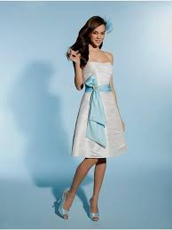 light blue and white bridesmaid dresses naf dresses