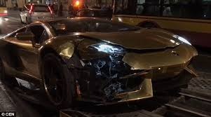 lamborghini aventador headlights in the dark lamborghini aventador driver ends up mangling supercar by speeding