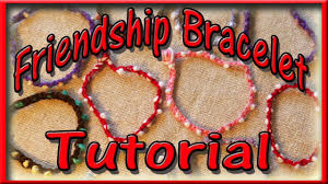 diy friendship bracelet easy craft for kids youtube