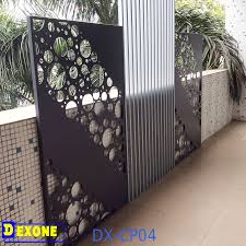 cnc aluminum perforated decorative wall panels metal fence buy