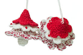 crochet christmas ornaments u2022 the crafty mummy