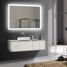 Lighted Mirrors Bathroom by Bathroom Lighted Mirrors Ebay
