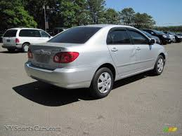 2005 toyota corolla le for sale 2005 toyota corolla le in silver streak mica photo 3 376481