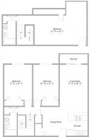 3 bedroom floor plan 3 bedroom floor plans rent college park apartments