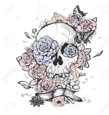skull tattoo images free candy skull flowers kids coloring europe travel guides com