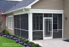 Aluminum Patio Enclosure Materials Use Your Aluminum Screen Door To Maximize Curb Appeal
