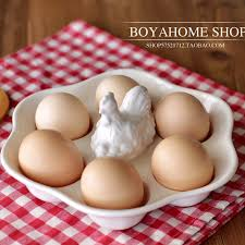 ceramic egg plate popular ceramic egg boxes buy cheap ceramic egg boxes lots from
