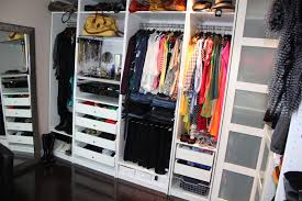 walk in closet simple and neat picture of closet and storage