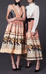 foxglove printed dress by temperley london moda operandi