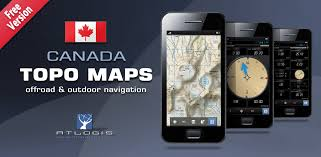 canada topo maps free ca appstore for android