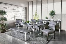 stainless steel dining set ebay