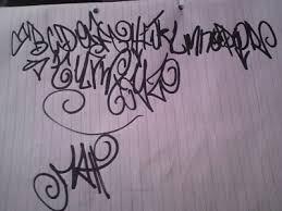 graffiti fonts sketch graffiti alphabet paper letter a z