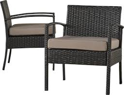 Veranda Collection Patio Furniture Covers - varick gallery howze 3 piece lounge seating group with cushion