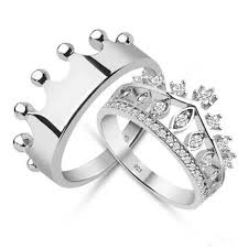 promise ring sets 15 king and promise rings for wedding couples