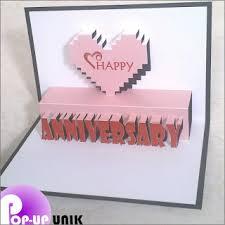cara membuat kartu ucapan i love you cara membuat pop up card untuk anniversary whatsapp status