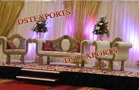 Indian Wedding Chairs For Bride And Groom Wedding Furniture Exporter From Patiala