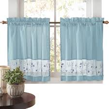 Lisette Sheer Panels by Embroidered Vines Fairfield Curtain Collection By Collections Etc