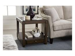 Hammary Sofa Table by Hammary Halsey Rectangular End Table With Soft Close Drawer
