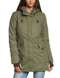 bench women u0027s parka tara iii jacket green beetle xs