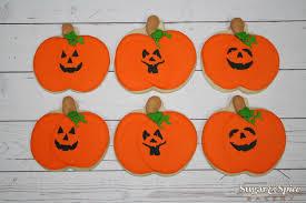 Halloween Pumpkin Sugar Cookies - posts sugar u0026 spice bakery