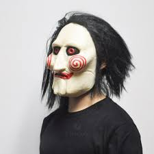 aliexpress com buy scary saw masks horror movie cosplay props