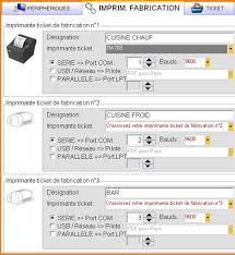 logiciel gestion cuisine logiciel de restaurant easy resto gestion des imprimantes de