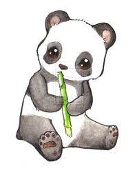 cute baby panda drawings how to draw a cute panda bear youtube