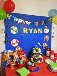 mario birthday party mario bros diy party mario birthday party via kara s