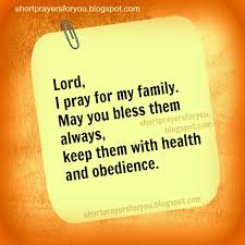 lord i pray for my family prayer prayers for you