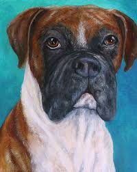 100 boxer dog compare prices on dog art paintings online shopping buy low price